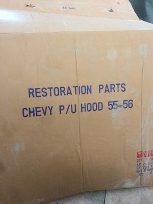Restoration parts 55 and 56 Chevy truck hood for Sale in San Diego, CA