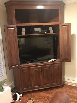 Cherrywood Corner Cabinet for Sale in Arlington, MA