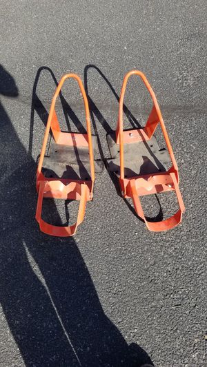 lock and load motorcycle tie downs for Sale in Wenatchee, WA
