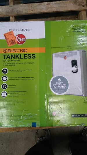 Rheem indoor electric tankless water heater 27Kw for Sale in City of Industry, CA