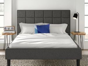 Gray queen bed frame for Sale in Portland, OR