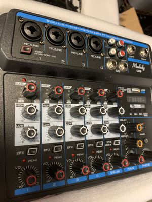 Mixer 6 ch usb for Sale in Naples, FL