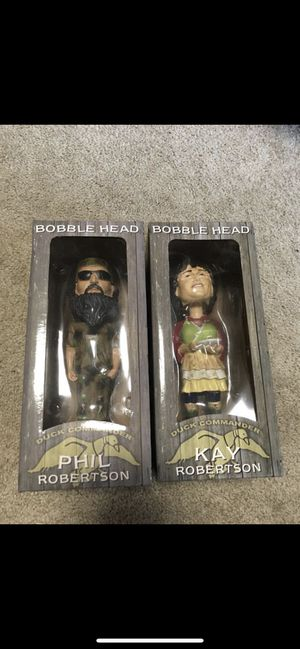 Phil and Kay Duck Dynasty Collectibles for Sale in Norman, OK