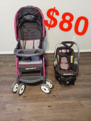 Stroller and car seat for Sale in Crosby, TX