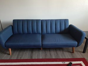 Modern futon couch for Sale in Oklahoma City, OK