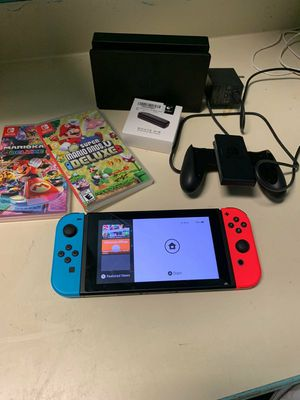 Nintendo switch console for Sale in Fort Bidwell, CA