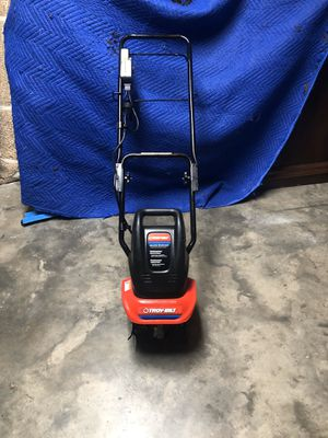 Troy Built ELECTRIC cultivator. New 2 hours total run time! for Sale in Frisco, TX