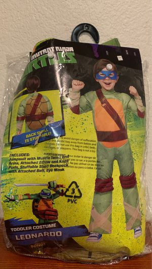 Costume ninja turtle toddler 5T for Sale in Rancho Cucamonga, CA