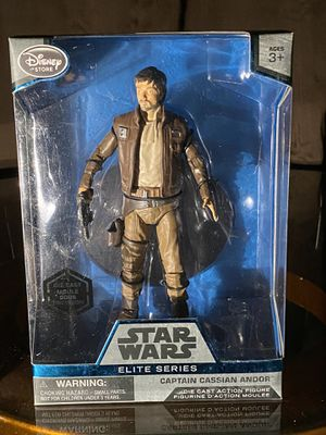 Star Wars Elite Series - Captain Cassian Andor - New for Sale in El Monte, CA