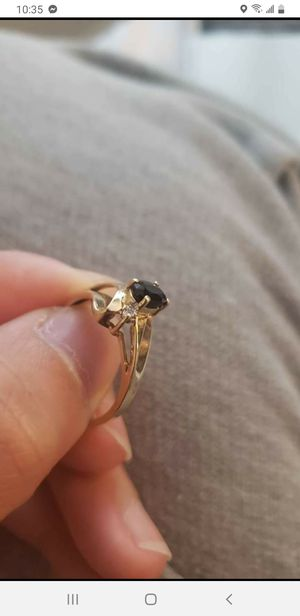 10k gold ring with small diamond for Sale in Gaithersburg, MD