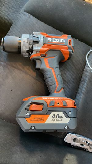 Ridgid drill for Sale in Halethorpe, MD