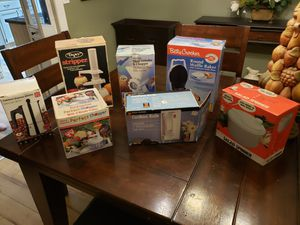 Kitchen items, small appliances group of 7 sold together all for $130 read description for details for Sale in VLG WELLINGTN, FL