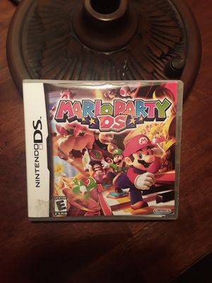 Mario Party DS game case for Sale in Kyle, TX