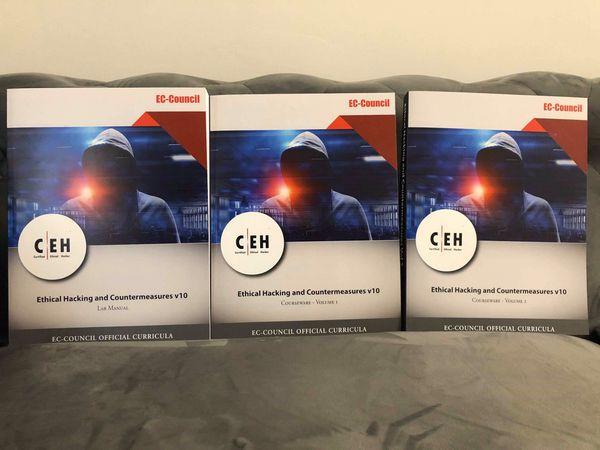 100% pass guarantee CEH v10 book and lab manual