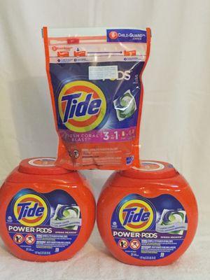 Tide detergent each $9,00 for Sale in Costa Mesa, CA