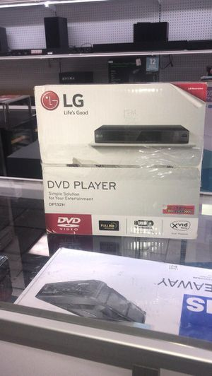 LG DVD Video Player DP132H USB Full HD for Sale in Miami, FL