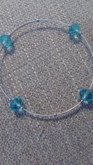 Sterling silver Blue topaz Bracelet for Sale in Greensburg, PA