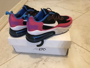 Nike Air Max 270 React for Sale in Lake Buena Vista, FL