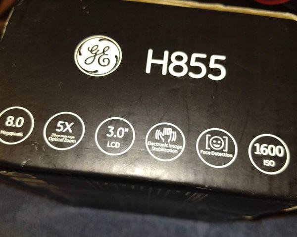 GE H855 8.0 Mega Pixel 5X Digital Camera/Camcorder