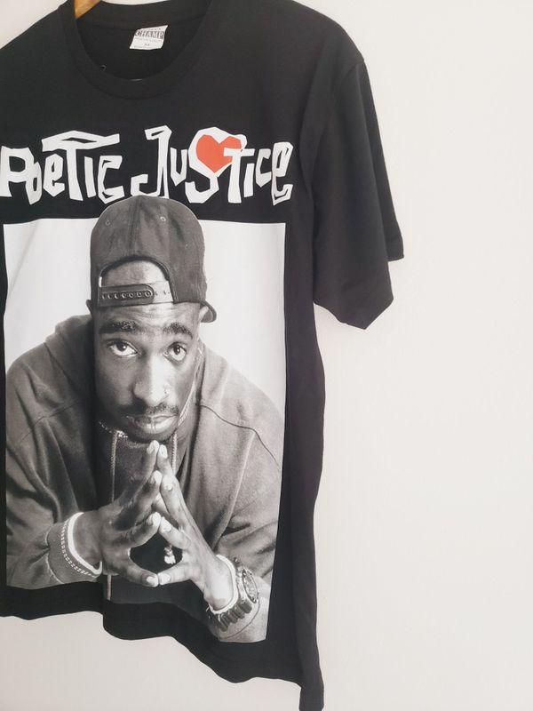 Poetic Justice Tupac Shakur Tee Tshirt