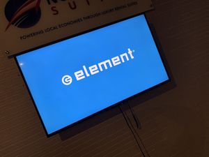 """43"""" LED element smart TV - wall mount only for Sale in Boston, MA"""