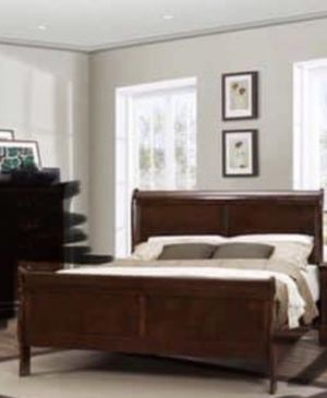Queen Sleigh Bed Frame for Sale in CORP CHRISTI, TX