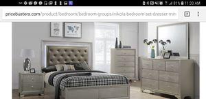 Bedroom set፡ Queen bed, Dresser and Mirror. for Sale in Adelphi, MD