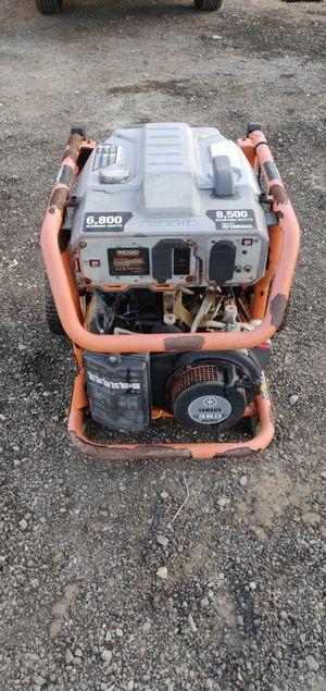 Ridgid generator 6800 w for Sale in Oceanside, CA