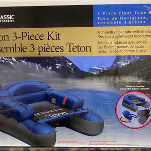 Teton 3 Piece Float Tube for Sale in Milwaukie, OR