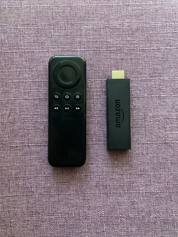 Amazon Fire tv stick with remote
