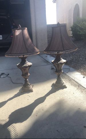 Pair of Lamps for Sale in Henderson, NV