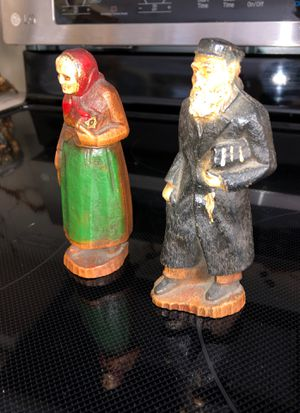 RELIGIOUS ANTIQUE WOOD CARVINGS- RABBI for Sale in Boca Raton, FL