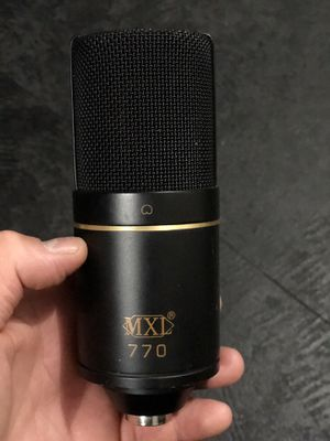 MXL Microphone & Shock Mount for Sale in Apple Valley, CA