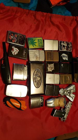 I have an assortment of zippo And different ones for Sale in Spartanburg, SC
