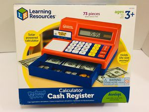 New! Calculator Cash Register Pretend and Play for Sale in Las Vegas, NV