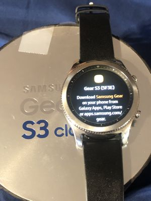 New Samsung gear s3 classic NO CHARGER for Sale in Los Angeles, CA