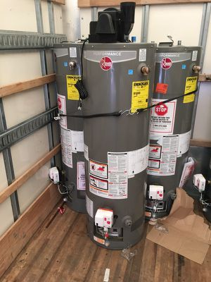 Brand new water heater with installation. WARRANTY for Sale in East Cleveland, OH