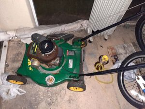 Lawn mower needs spark plug and gas for Sale in Riverview, FL