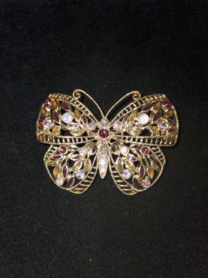 A beautiful butterfly brooch for Sale in Pomona, CA