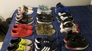 Nike, adidas, puma, jays for Sale in Denver, CO