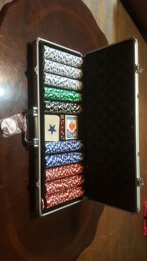 Poker case set for Sale in Enderlin, ND
