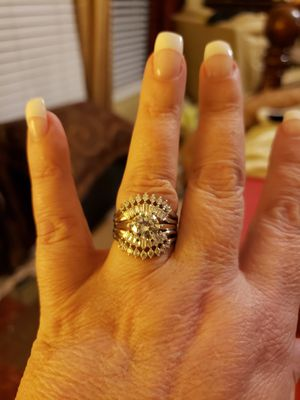 Sterling silver marked wedding ring for Sale in Franklinton, NC