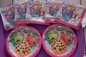 Shopkins Plates & Napkins for Sale in San Jose, CA