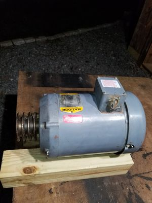 5hp Baldor motor great condition for Sale in South Attleboro, MA
