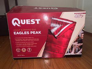 Quest Eagles Peak Adult Sleeping Bag for Sale in West Covina, CA