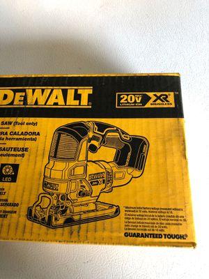 Dewalt brushless XR jigsaw for Sale in Denver, CO