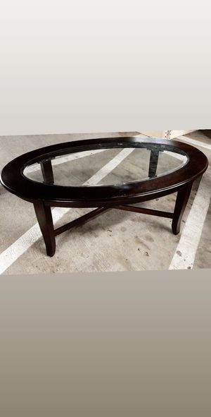 Coffee table. Espresso brown for Sale in Whittier, CA