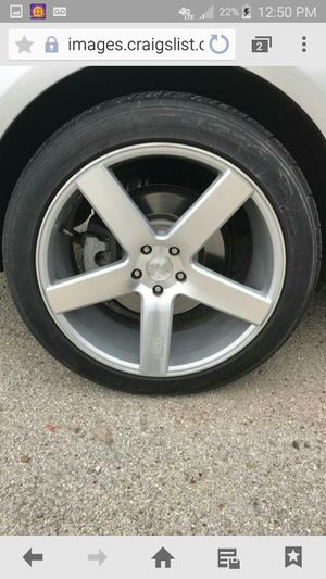 NICHE 22 inch wheels for Sale in Houston, TX