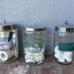 Vintage Apothecary Jars for Sale in Santa Ana, CA