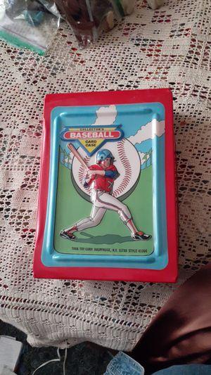 1987 Tara Toy Co. Baseball Collectable card case for Sale in Mesa, AZ